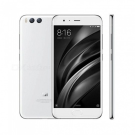 xiaomi Mi 6 Android 7.1.1 Phone with 6GB RAM, 64GB ROM - White