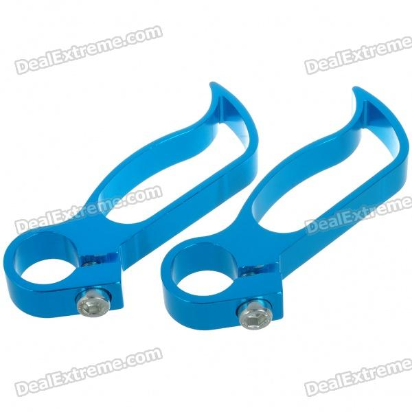 Bicycle Aluminum Bar End Set (Pair/Random Color)
