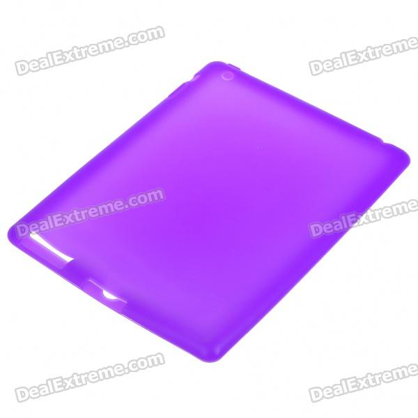 Protective Silicone Back Case for Ipad 2 - Purple 8 replacement spare parts blender juicer parts 4 rubber gear 4 plastic gear base for magic bullet 250w 38