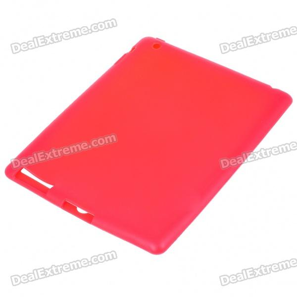 Protective Silicone Back Case for Ipad 2 - Red for ipad mini4 cover high quality soft tpu rubber back case for ipad mini 4 silicone back cover semi transparent case shell skin