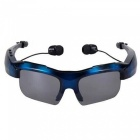 KELIMA Car Bluetooth Glasses, High Quality Stereo Bluetooth Sunglasses, Support Calls - Blue