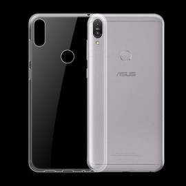 Dayspirit Ultra-Thin Protective TPU Back Case for Asus Zenfone Max Pro (M1) ZB601KL - Transparent