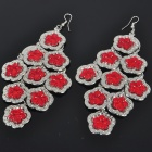Fashion Flower Style Metal Earrings (2-Pair Pack)