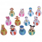 Niedliche Cartoon Figuren Resin Gläser (12-Figure Set)
