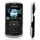 "C6000TV 2.4"" LCD Dual SIM Dual Network Standby Quadband GSM TV Cell Phone w/ WIFI+JAVA"