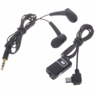 Noise Isolation In-Ear Stereo Earphone with Microphone for Nokia 8600
