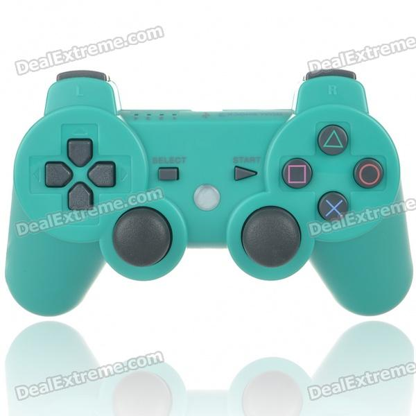 Designer's DualShock 3 Bluetooth Wireless SIXAXIS Controller for PS3 - Green