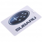 Compact Name Card with Car Brand Logo Style USB 2.0 Flash/Jump Drive - Subaru (8GB)