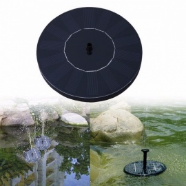 Solar Water Pump For Garden Pool Pond Watering Outdoor Solar Panel Pumps Kit For Fountain Navy Blue