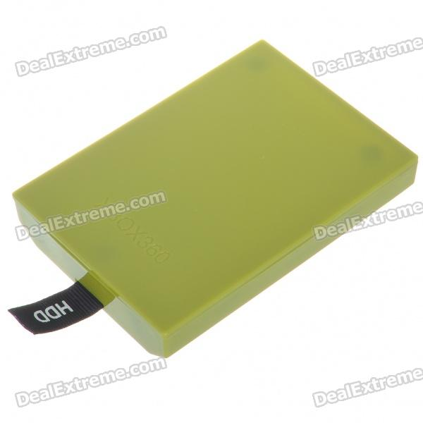 Plastic Internal Hard Drive Disk Case for Xbox 360 Slim - Green