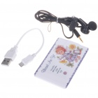 Credit Card Style USB 2.0 Rechargeable MP3 Player - The Little Girl (2GB)