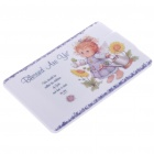 Credit Card Style USB 2.0 Rechargeable MP3 Player - The Little Girl (4GB)