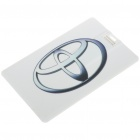 Cool Toyota Logo Card Style USB Flash Drive (2GB)