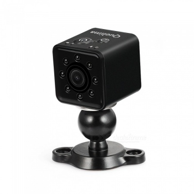 Quelima SQ13 Mini HD 1080P Car DVR DV Camera HD Sports DV Loop Recording HD Night Vision - Black