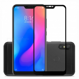 Naxtop 2.5D Full Screen Coverage Tempered Glass Protector for Xiaomi Redmi 6 Pro - Black