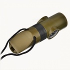 Militar 6-en-1 Outdoors Survival Kit Mini (Whistle + Compás + + Lupa Linterna LED + más)