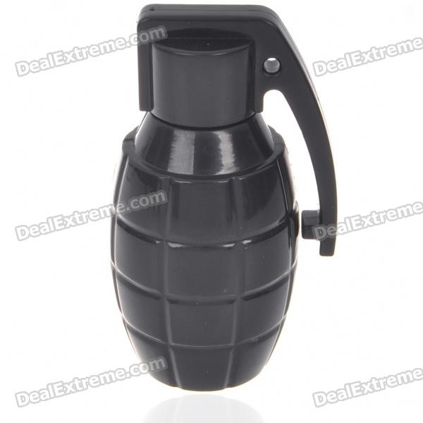 Unique Grenade Shaped USB 2.0 Flash/Jump Drive - Black (2GB)