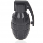 Unique Grenade Shaped USB 2.0 Flash/Jump Drive - Black (4GB)