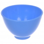 4-in-1 DIY Facial Mask Maker Set Mixing Bowl + Stick + Brush + Measuring Spoons - Blue