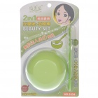 2-in-1 DIY Facial Mask Maker Set Mixing Bowl + Stick - Green