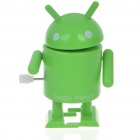 Clockwork Wind-Up Walking Google Android Robot Toys - Green