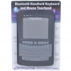 "Mini Rechargeable Bluetooth Handheld Qwerty Keyboard & 2.8"" Mouse Touchpad (400mAh)"
