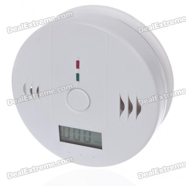 "1.3"" LCD Security Carbon Monoxide Alarm (85db/3*AA)"