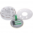 "1.3"" LCD Security Carbon Monoxide Alarm w/ Indicator Light - White"