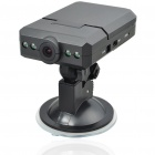 "3.0 MP Wide Angle 4-LED Night Viewing Digital Car DVR Camcorder w/ Mini USB/SD (2.5"" LCD)"
