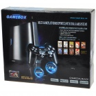 GAMEBOX Multi-Game Platform TV Video Game Console with Dual-Shock Joypad Gamepad Set (PAL/NTSC)