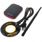 1000mW High Power 802.11b/g/n USB Wireless Network Dongle with 7dBi Antenna