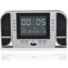 "2.4"" LCD Multi-Function IR Clock Spy DVR With Remote Control & Night Vision"
