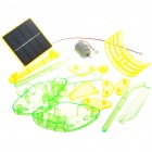 Solar Powered Intellectual Development DIY Toy Helicopter