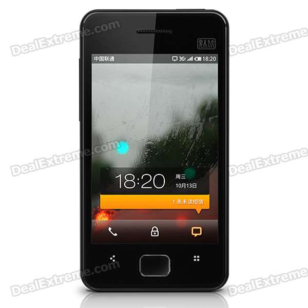 Meizu M9 3.5 Touch Screen 1GHz S5PC110 Android 2.2 GSM/WCDMA Cell Phone w/WiFi/GPS meizu m8 se 8gb