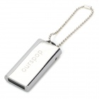 OURSPOP Compact Stainless Steel Push-Pull Style USB 2.0 Flash/Jump Drive (4GB)