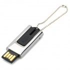OURSPOP compacto de acero inoxidable Push-Pull estilo USB 2.0 Flash / unidad de salto (4GB)