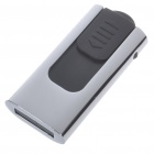 Compact Stainless Steel Push-Pull Style USB 2.0 Flash/Jump Drive (8GB)