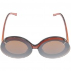 Stylish Mickey Mouse Flip Up Style Resin Lens Sunglasses - Brown