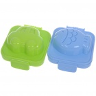 Cute Shape PP Plastic Boiled Egg Rice Mold Food Maker (Pair/Shape Assorted)