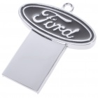 Compact Stainless Steel Car Brand Logo USB 2.0 Flash/Jump Drive - Ford (4GB)