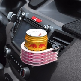 Universal Automotive Car Metal Outlet Drink Holder Car Cup Holder Water Holder Beverage Glove Clip Auto Supplies Silver