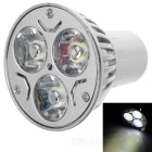 MR16 3W 240lm 6500K Cold White Light 3-LED Cup Bulb (220V)
