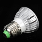 E27 3W 3-LED 6500K 240-Lumen White Light Bulb (110~220V)