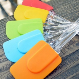 Pastry Tools Silicone Spatula Baking Scraper Cream Butter Handled Cake Spatula Cooking Cake Brushes Kitchen Utensil Multi