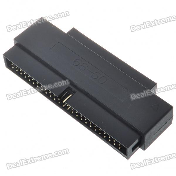 все цены на HPDB 68-Pin Male to Box Header 50-Pin Male SCSI Internal Adapter онлайн