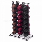 Metal Nespresso Capsule Holder Storage Rack Display Capsule Rack  Storage 42 Nespresso Capsules Coffee Pod Holder Black