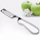 Stainless Steel Cutter Vegetable Fruit Apple Slicer Potato Peeler Parer Tool Kitchen Gadgets Tools Silver