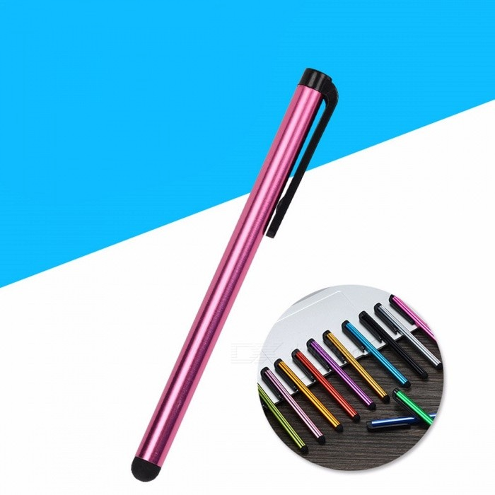 promo code 4cd2b 471ee Capacitive Touch Screen Stylus Pen For IPHONE 7 7s IPAD 2/1 Mini 2/3 Suit  For Universal Smart Phones Tablets Random Color
