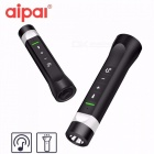 Flashlight Bluetooth Speaker Portable Outdoor Portable Power  Source Hands-free Calls Multifun Power Bank Black/Speaker