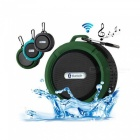 C6 Portable Mini Bluetooth Sound Waterproof Outdoor Sport Small Party Wireless With Calls Army Green/Speaker